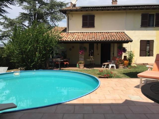 San Damiano al Colle PV VENDITA Casale di campagna con piscina Rif. 498